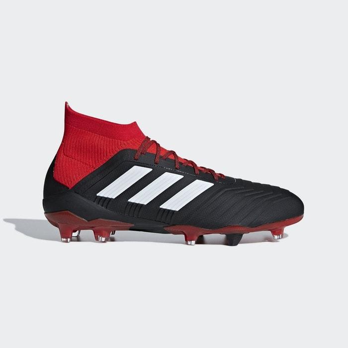 Chaussure predator 18.1 terrain souple noir Adidas