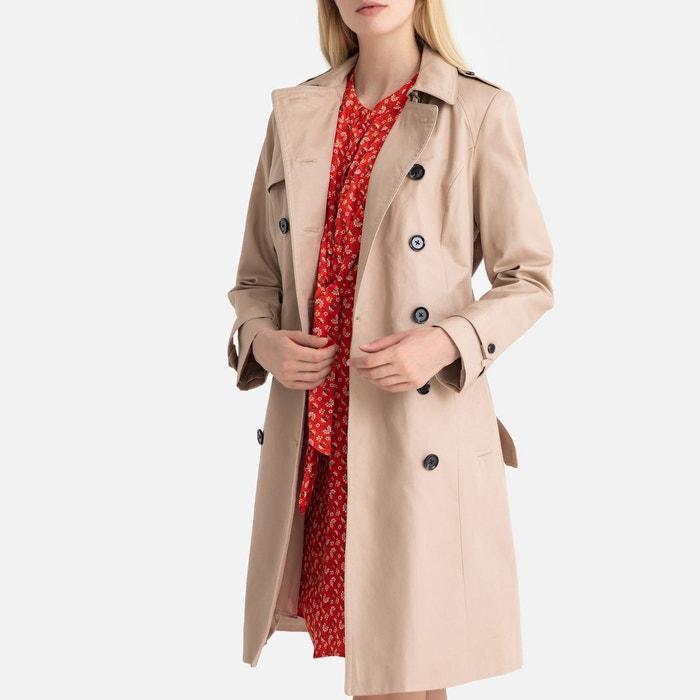 Trench coat pur coton La Redoute Collections   La Redoute