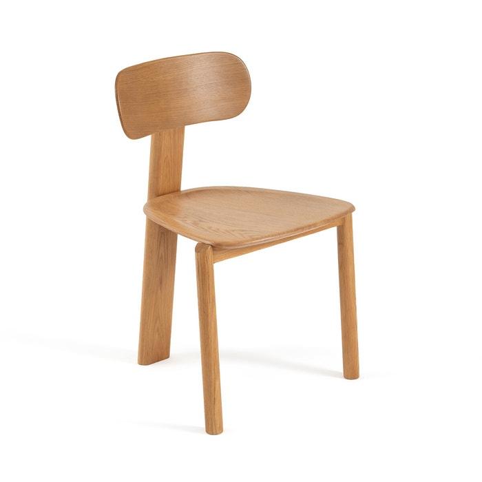 Chaise marais design e. gallina natural oak Am.Pm  La Redoute