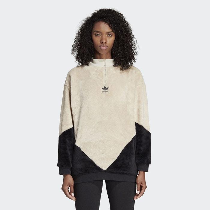 Sweat shirt clrdo marron Adidas Originals   La Redoute