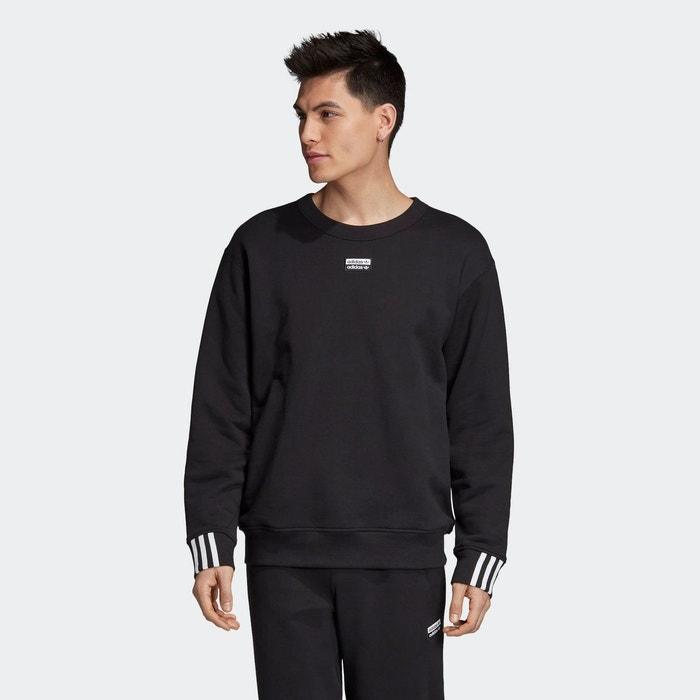 Sweat shirt r.y.v. crew noir Adidas Originals | La Redoute