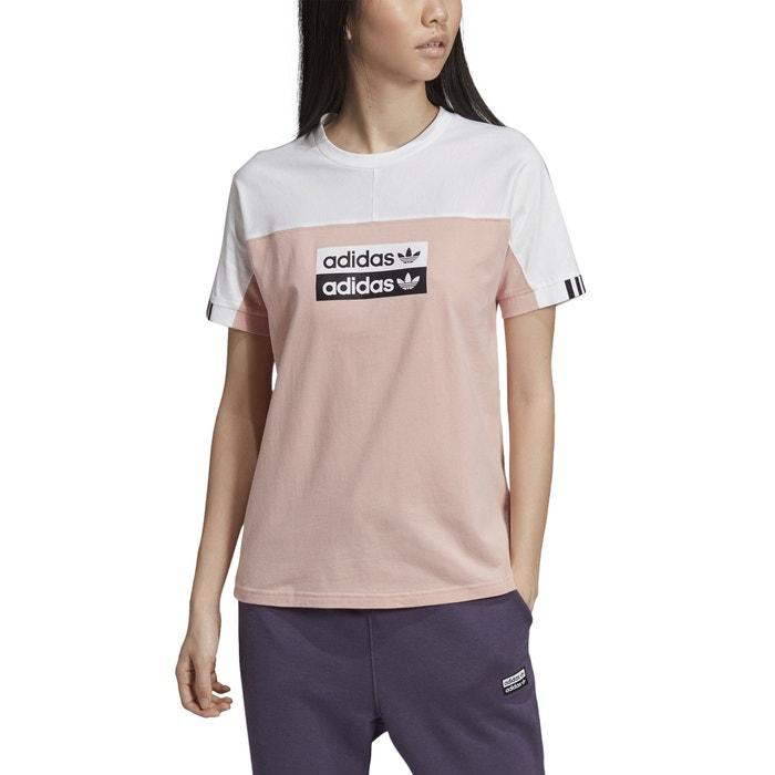adidas originals t shirt à trois bandes blanc