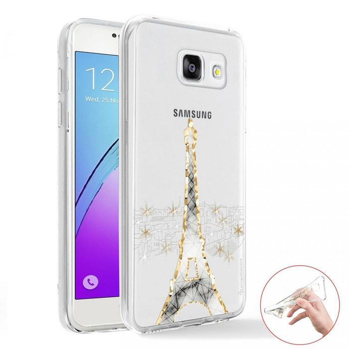 Coque Samsung Galaxy A5 2016 360 intégrale avant arrière transparente