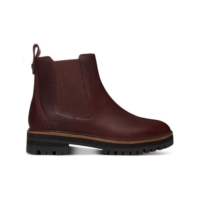 London Chelse cuir Boots Square Boots London cuir Square jR354AL