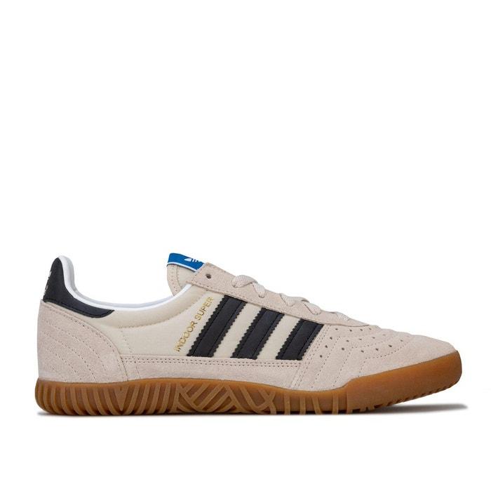 adidas Indoor Super Homme Baskets Mode Blanc:
