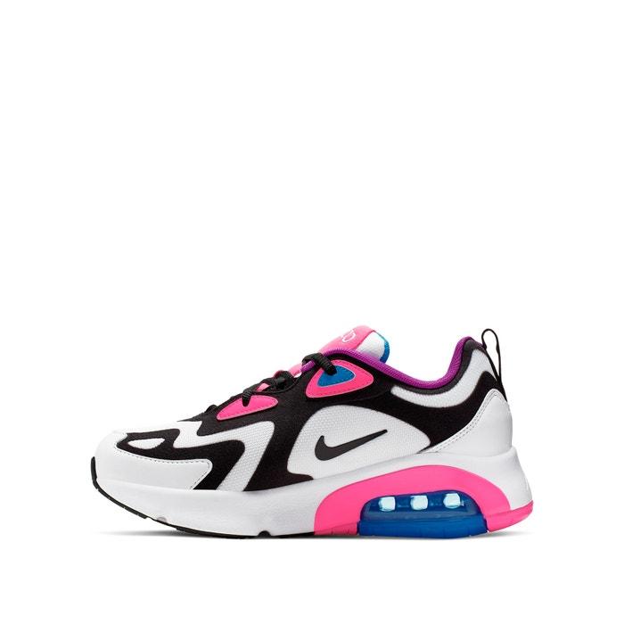 air max 200 preto e rosa