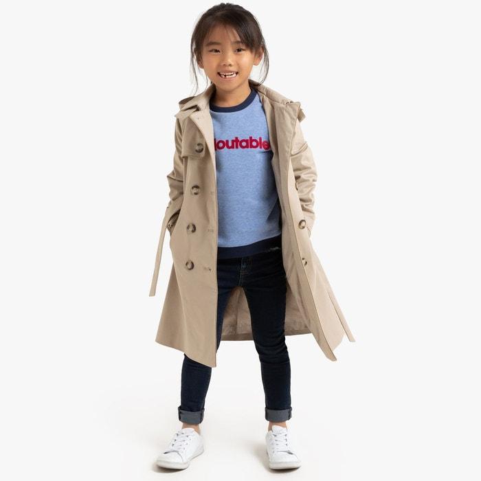 Trench à capuche de 4 à 12 ans beige Vanessa Seward X La