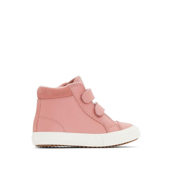 Baskets montantes pc boot 2v cuir Converse rose | La Redoute