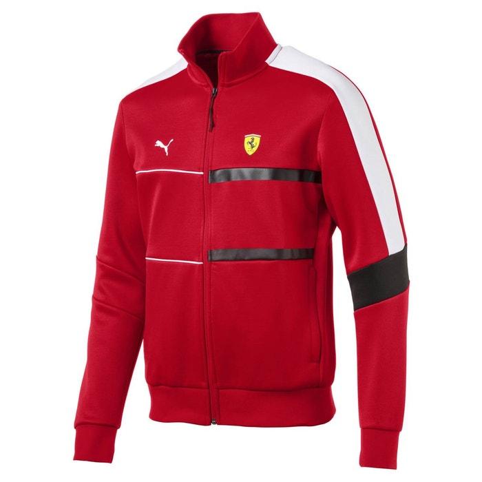 Veste en cuir Puma Ferrari