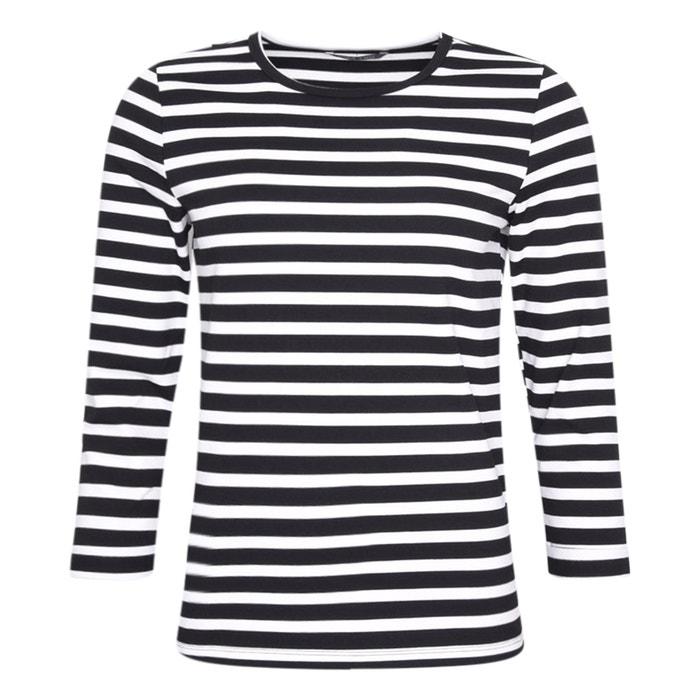 am besten bewertet neuesten detaillierte Bilder am besten geliebt Gestreiftes Shirt, 3/4-Ärmel