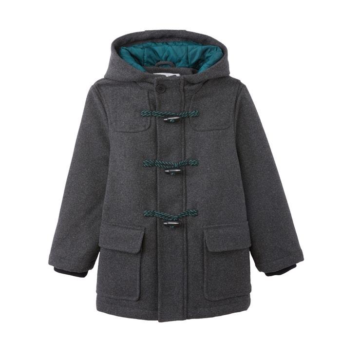 enfant style attrayant vente en ligne Wool mix hooded duffle coat, 3-12 years , grey, La Redoute ...
