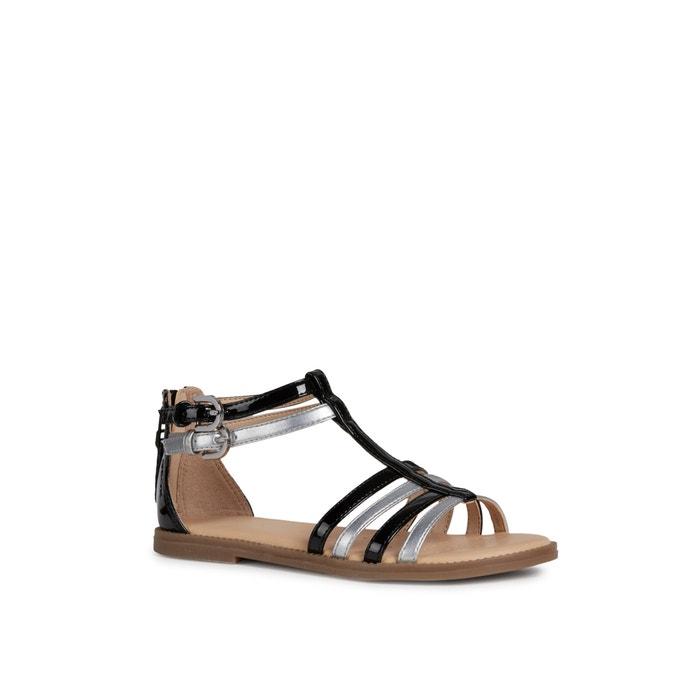 J karly girl 2 sandals blacksilver coloured Geox   La Redoute