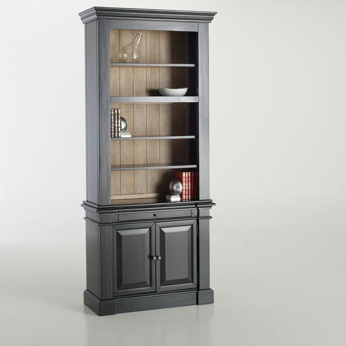 online store c9014 e6bb8 Lipstick solid pine apothecary cabinet , black, La Redoute ...
