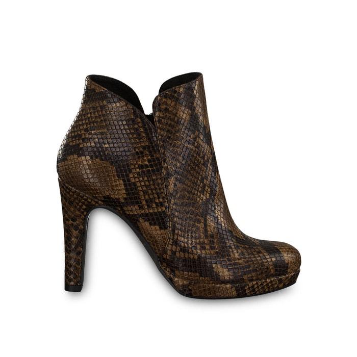 Hohe boots lycoris in schlangen optik schlange Tamaris | La