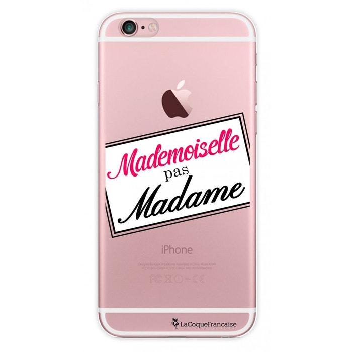 coque iphone 6 mademoiselle