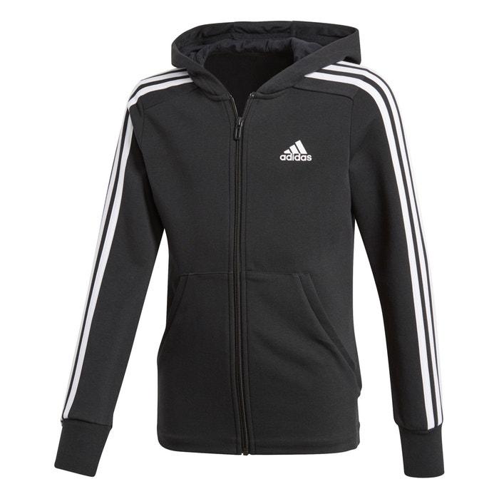 Sweat de sport zippé à capuche 45 1415 ans Adidas