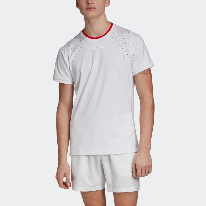 T shirt adidas by stella mccartney court blanc Adidas