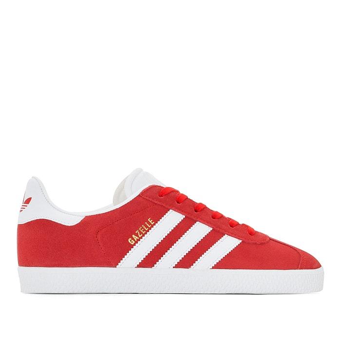 Sneakers gazelle j rot + weiss Adidas Originals | La Redoute