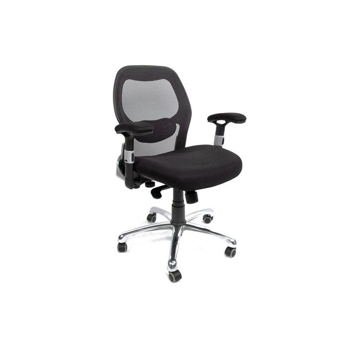 Chaise de bureau ergonomique ultimate v2 noir Miliboo   La