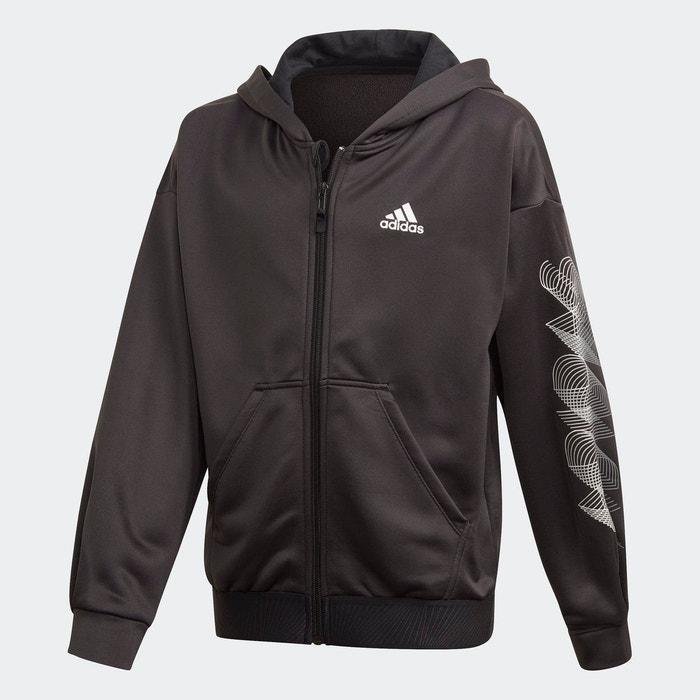 Veste à capuche ample up2mv aeroready noir Adidas
