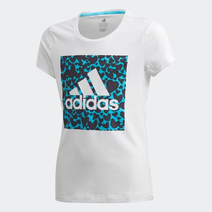 T shirt aeroready leo graphic blanc Adidas Performance | La