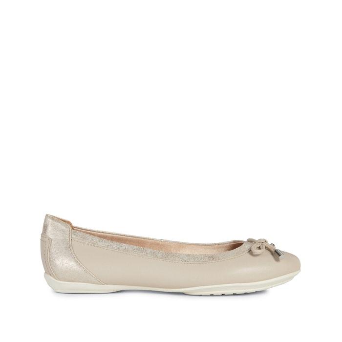 stile classico molti alla moda scarpe temperamento Charlene leather ballet pumps beige/gold-coloured Geox | La Redoute
