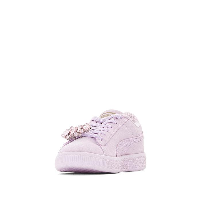 Baskets g ps suede jewel Puma violet | La Redoute