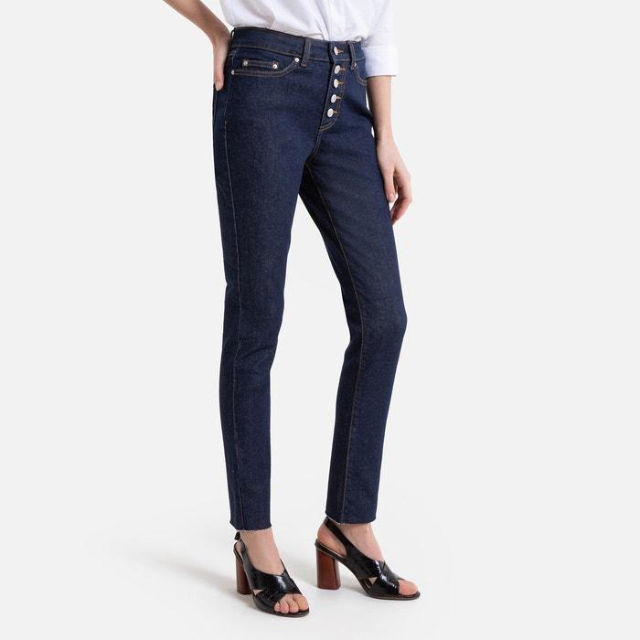 Jeans skinny con patta abbottonata a vista La Redoute