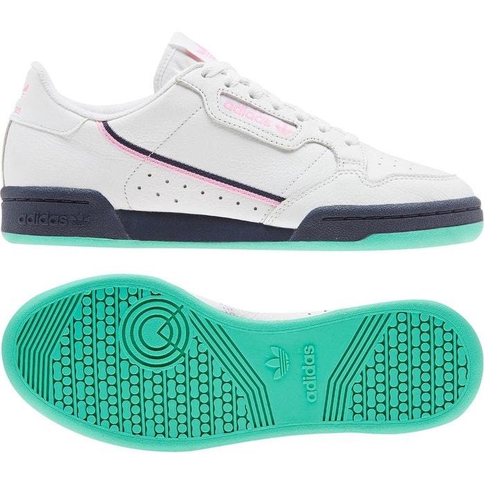 dernier style promotion parcourir les dernières collections Chaussures continental 80 blanc, rose, bleu marine Adidas ...