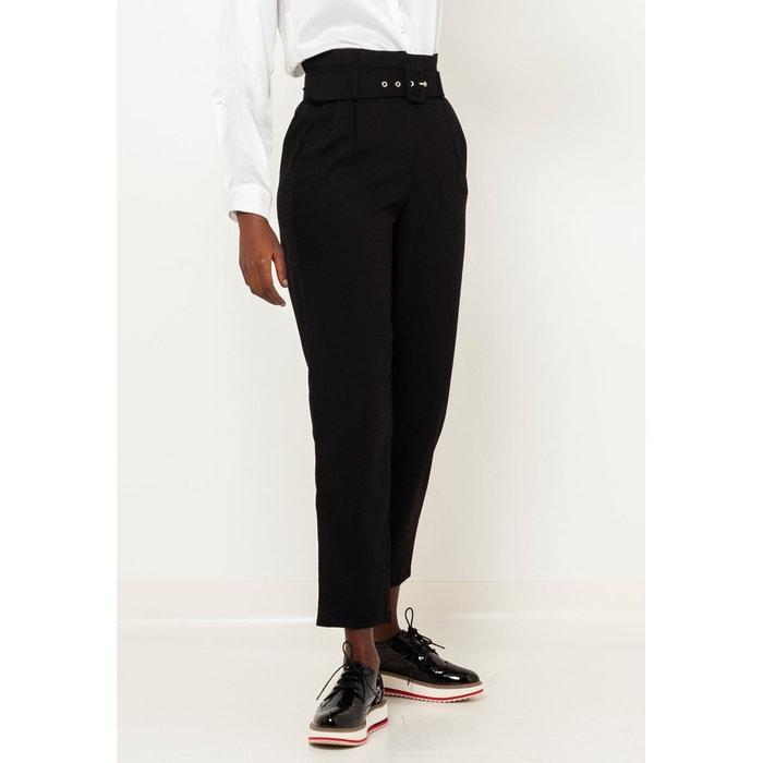 camaieu pantalon noir habillé