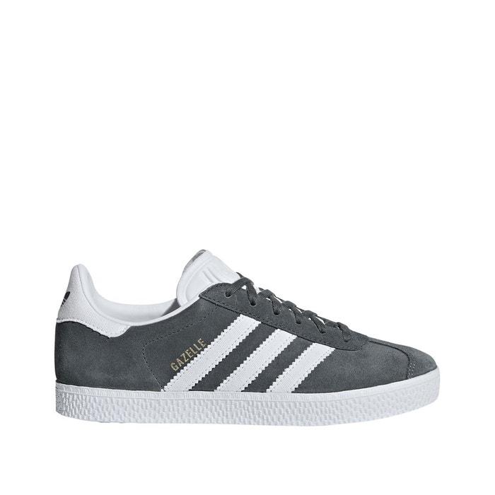 Baskets gazelle noirblanc Adidas Originals   La Redoute