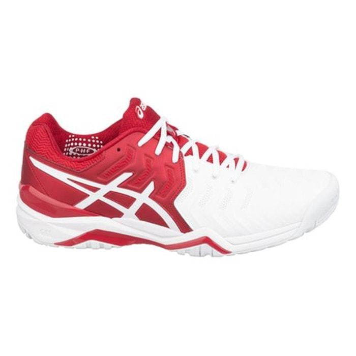 Chaussures gel resolution novak rouge vifblancargent Asics