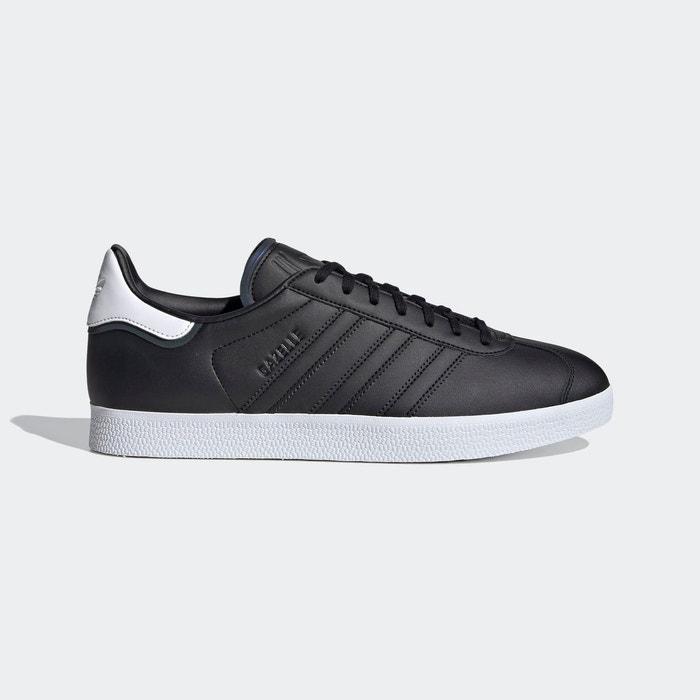 Baskets gazelle noir Adidas Originals   La Redoute