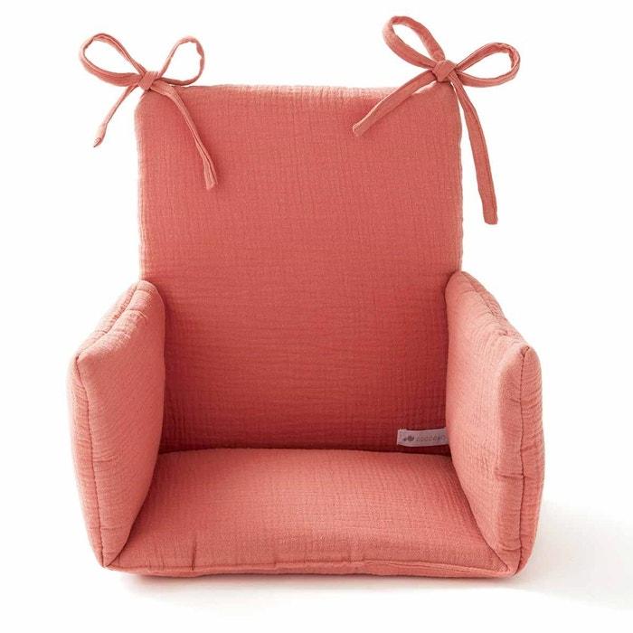Coussin Chaise Haute Bébé Confort Gaze De Coton Oeko Tex Fabriqué En France