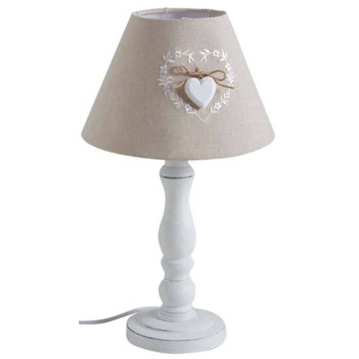 Lampe De Chevet En Bois Romantique