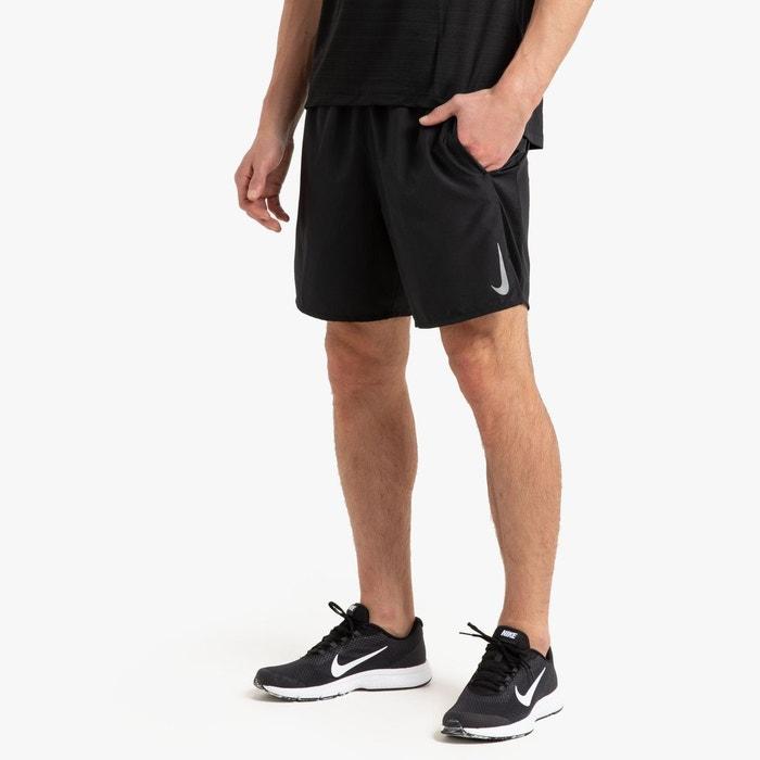 Short de running challenger 2 en 1 noir Nike | La Redoute