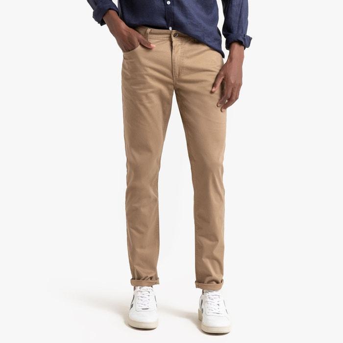 """Tailles Homme Marron Slim Fit Chino En Coton Extensible Pantalon Jeans Pantalon W28/""""-W48/"""""""