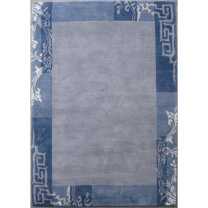 Tapis Salon -Tapis Unique en laine et soie-original Nepal-GS