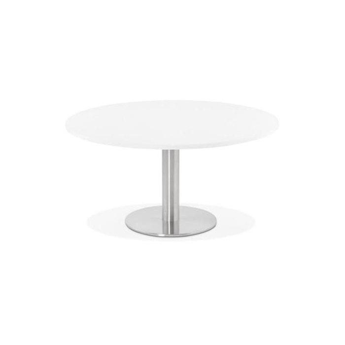 Table Basse Ronde Blanche Aguilas Blanc Declikdeco La Redoute