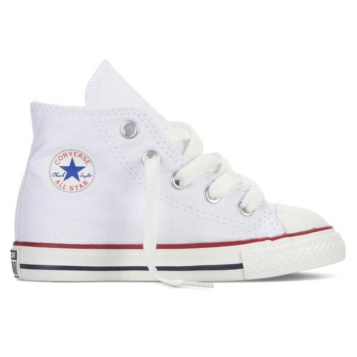 Chuck taylor all star core canvas hi blanc Converse | La Redoute