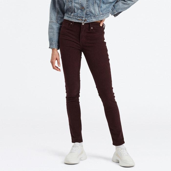 Skinny Jeans 721 mit hohem Bund