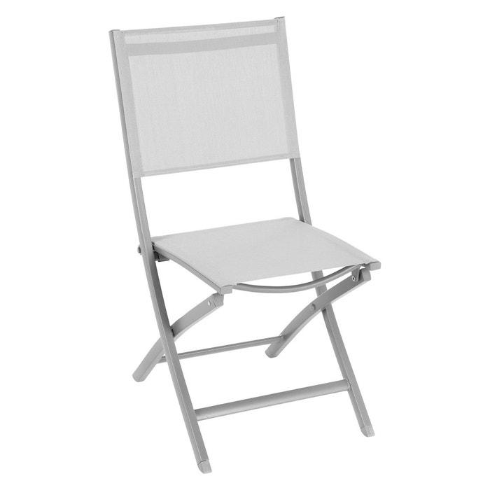 Chaise de jardin pliante Essentia