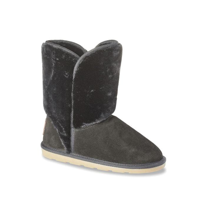 Boots fourrées chate Les Tropeziennes Par M Belarbi noir