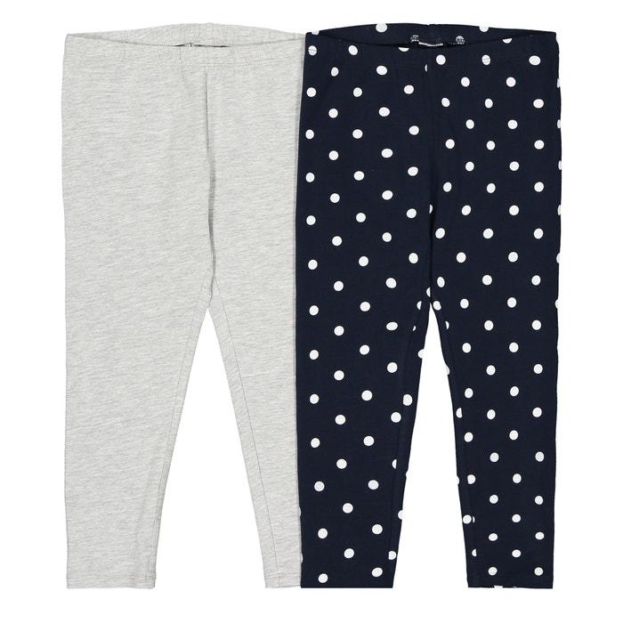La Redoute Collections Big Girls Striped Pyjama T-Shirt /& Leggings 3-12 Years
