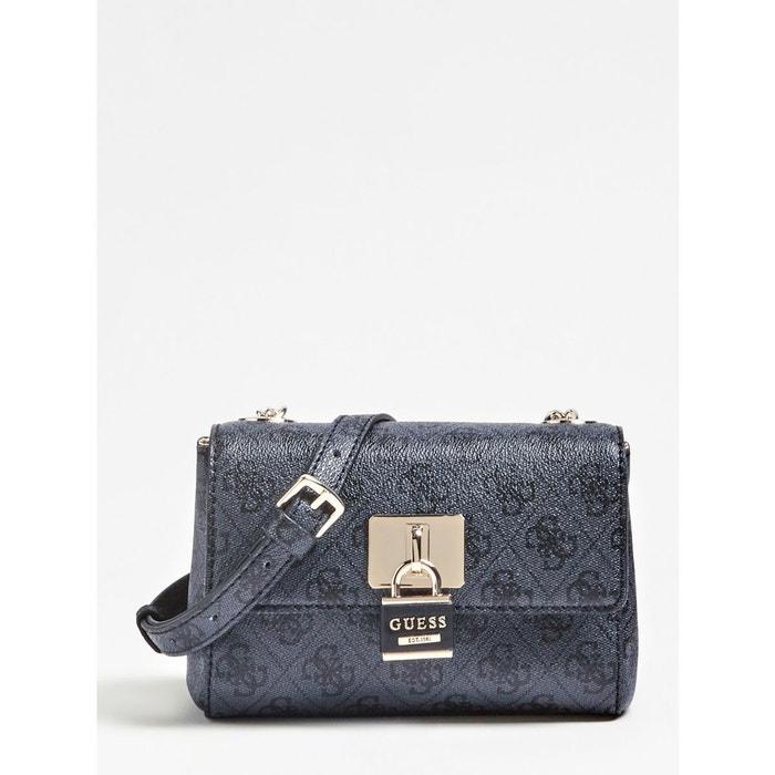 Mini sac bandouliere downtown cool gris foncé Guess   La Redoute