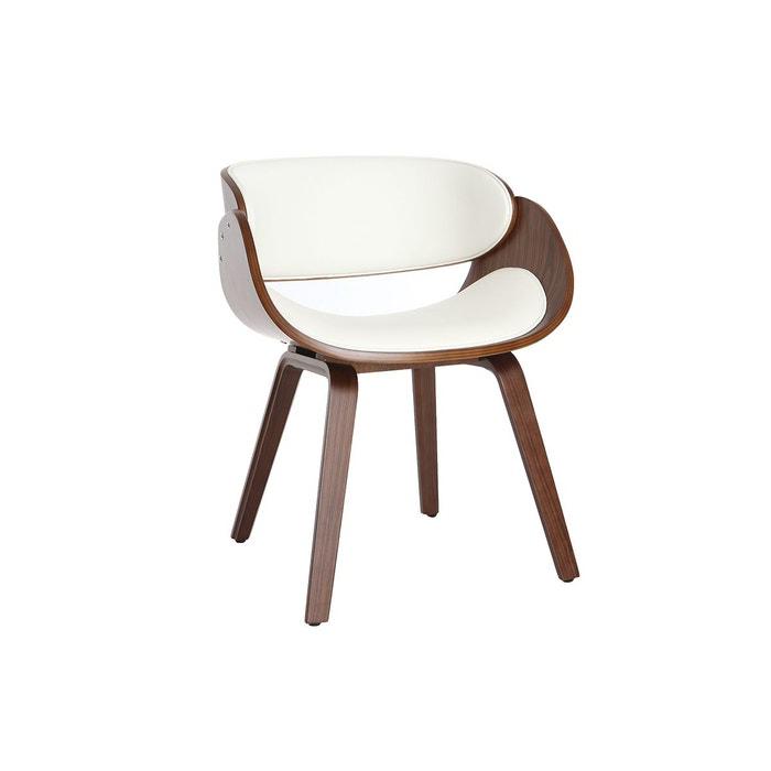 Chaise design bois bent Miliboo   La Redoute