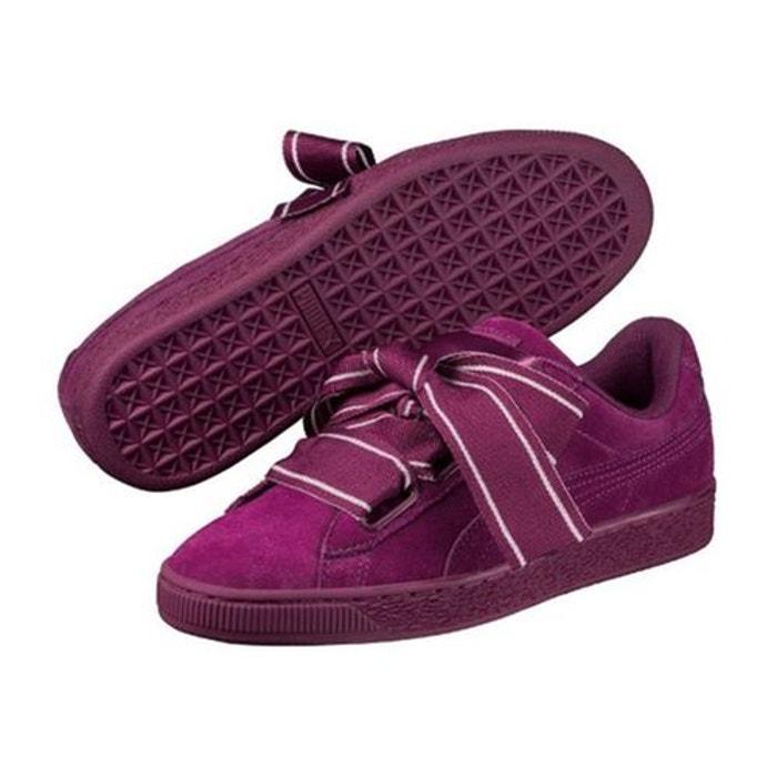 Basket Puma Suede Heart Satin 2 Wn S 364084 0 Violet
