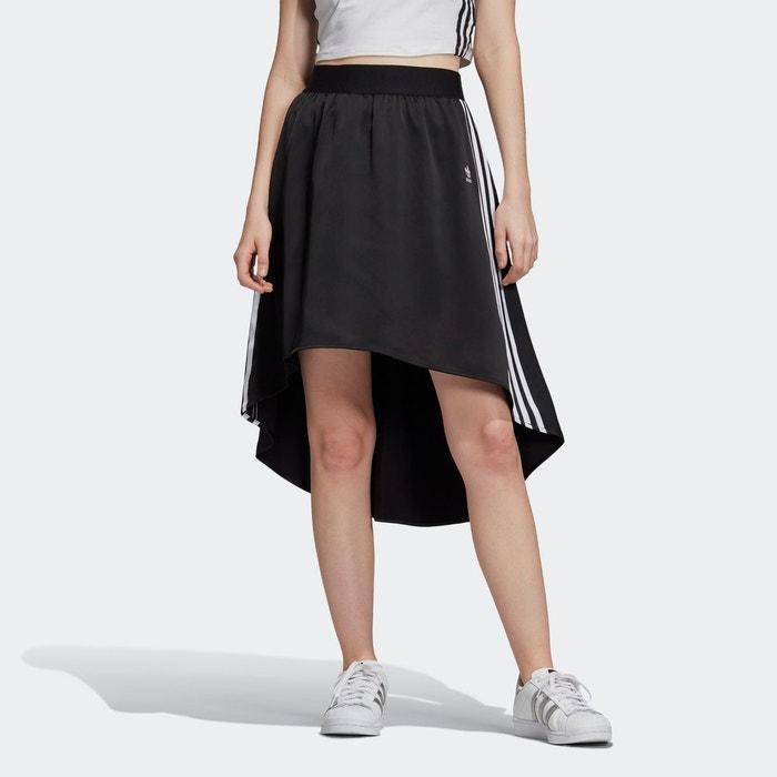 Jupe satin noir Adidas Originals | La Redoute
