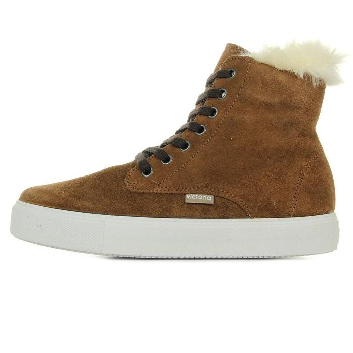 Boots bota blucher serraje marron Victoria | La Redoute
