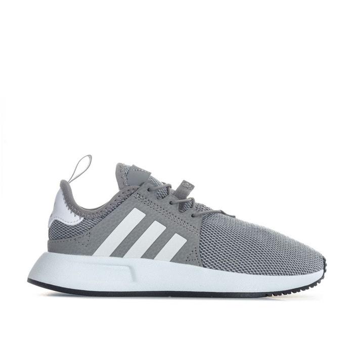 Baskets x plr toile gris Adidas Originals   La Redoute
